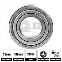 1x 6805-ZZ NR Deep Groove Metal Sealed Ball Bearing 25mm x 37mm x 7mm Snap Ring