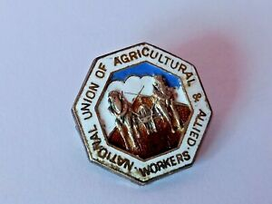 UNION OF AGRICULTURAL & ALLIED NATIONAL WORKERS, RIPPINGALE BRANCH SILVER BADGE