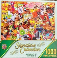 Breakfast of Champions Jigsaw 1000 Piece Puzzle MasterPieces New Cereal