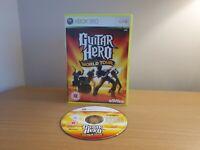 XBOX 360 GUITAR HERO WORLD TOUR - FREE P&P