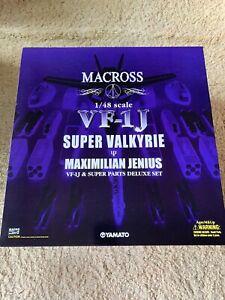 Yamato Macross VF-1J 1/48 Super Valkyrie Maximilian Jenius