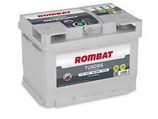 Batterie voiture Rombat Tundra EB260 12v 60ah 580A 242x175x175 idem D59 D21VARTA