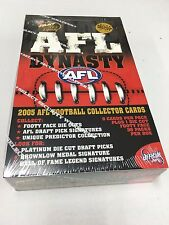 2005 Select AFL Dynasty Factory Box (36 packs)-HOT SERIES