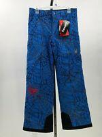 SPYDER MARVEL HERO SKI Snowboard PANTS Boys sz 10 spiderman NWT DS32