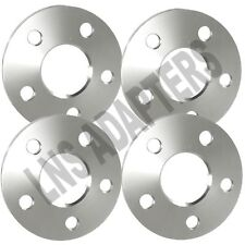 Set of 4 | 5mm Hubcentric 5x112 Wheel Spacers | 66.56mm Hub | fits Mercedes