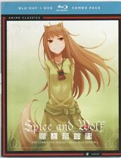 Spice and Wolf: Complete Series - Anime Classics (Blu-ray/DVD, 2014, 8-Disc Set)