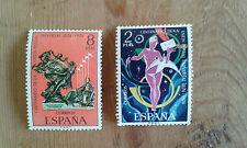 Nuevo - LOTE DE 2 SELLOS DE ESPAÑA AÑO 1974 - Item For Colecctors