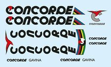 Concorde Gavina Bicycle Decals-Transfers-Stickers #7