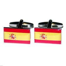 Spain Flag Cufflinks X2BOCF029