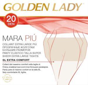 COLLANT GOLDEN LADY 7 PAIA MARA PIU' 6 / XXL FILANCA 20 DENARI