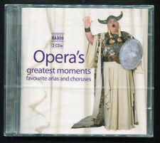Opera's Greatest Moments: Favorite Arias and Choruses, 2 CDs Sealed