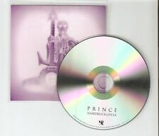 PRINCE  'HARDROCKLOVER' - BRAND NEW OFFICIAL NPG CD PROMO + PRESS STICKER