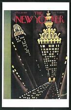 Theodore Haupt : Copertina per The New Yorker del  1929 - cartolina moderna