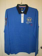 La Martina Polo Shirt Italy Official Italian Long Sleeve Sz XL