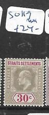 MALAYA STRAITS SETTLEMENTS   (PP2605B)  KE  30C  SG 117    MOG