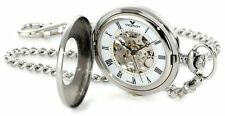 Viceroy Men's 44075-02 'Automatic' Stainless Steel Roman Numerals Pocket watch
