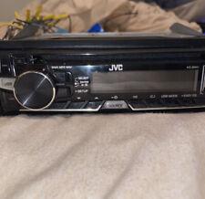 JVC KD-R370 1-DIN CD AM/FM Front AUX Car Stereo Receiver