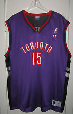 Vintage Toronto Raptors Vince Carter Champion Jersey size 48