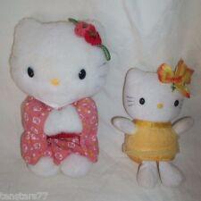 HELLO KITTY PLUSH Lot KIMONO 2001 Sale JAPAN ONLY SANRIO GERMANY Yellow Flower