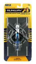 Daron Runway24 Diecast Metal Toy with Runway Section - Police Bell 206 Jetranger