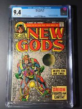 NEW GODS #1 CGC 9.4 1st Orion, Lightray, Metron, High-Father & Kalibak!