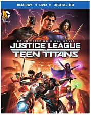 JUSTICE LEAGUE VS TEEN TITANS (DC Universe) Blu Ray -Sealed Region free 12/04/16