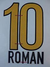 BOCA JUNIORS 2012-2013 AWAY   ROMAN SET NAME AND NUMBER