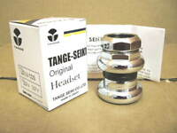 """New Tange Levin CDS Threaded Headset...1"""" ISO Specifications w/ Chrome Finish"""