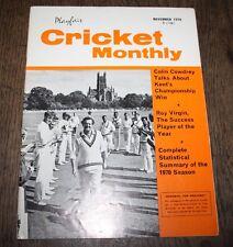 Playfair Cricket International - November 1970 - Kent's Championship Win