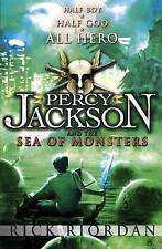 Percy Jackson and the Sea of Monsters, By Rick Riordan,in Used but Acceptable co
