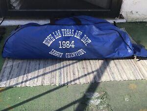 "Vintage Worth U-Tote Baseball Bag ""North Las Vegas League Champions 1984"""