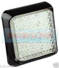 LED AUTOLAMPS 80WME SLIM SQUARE 12V/24V WHITE REVERSE TRAILER TRUCK LAMP LIGHT
