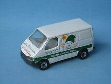 Matchbox Ford Transit Van Garden Festival Promo Toy Model Flowers Delivery