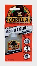 New!!! Original Gorilla Glue White 2oz High Strength Waterproof Adhesive 5201205