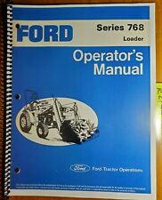 Ford Series 768 Loader For 1100 1200 Tractor Owner Operator Manual Se 3776 379