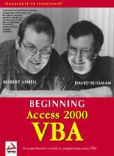 Beginning Access 2000 VBA-Smith