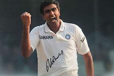 India Signed Cricket Memorabilia Photos
