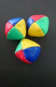 6x PU Juggling Balls Set Ball Bag Beginner Kids Toy Gift Fun