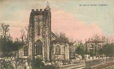 POSTCARD  LICHFIELD  St Chads  Church