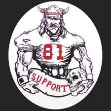 Hells Angels Original 81 Support Vikings Sticker Autocollant