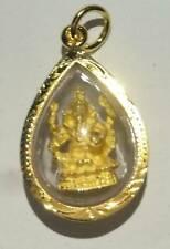 Amulet thailand Ganesha gold micron