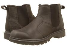 CAT Footwear Caterpillar Men's Thornberry Leather Chelsea BOOTS Dark Brown UK 11