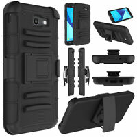For Samsung Galaxy J7 Prime J7 2017 kickstand Holster Belt Clip Armor Case Cover