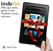"Kindle fire hd 7"", dolby audio, double bande wi-fi, 16 go - [2nd gen.] noir"