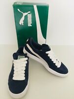Puma Mens Suede Classic Shoes Sneakers - Peacoat & White - 7 US - 6 UK 35656851