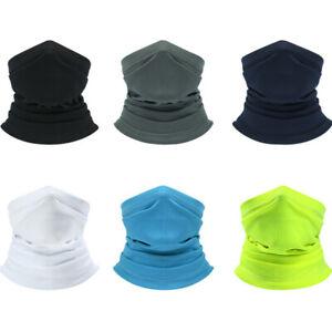 UV Protection Neck Gaiter Face Mask Scarf Windproof Breathable Bandana Balaclava