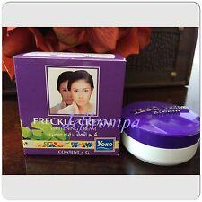 1 Yoko Freckles Whitening Cream Lightening Remove Blemishes Dark Spots 4g