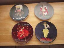 Pottery Barn 'Bubbly' Plate Set (4)