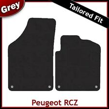 Peugeot RCZ (2010 2011 2012 ...) Tailored Fitted Carpet Car Mats GREY