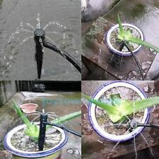 25PCS Adjustable Plastic Garden Watering Irrigation 360° Drippers System Black